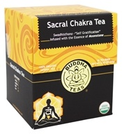 Buddha Teas - 100% Organic Herbal Sacral Chakra Tea - 18 Tea Bags