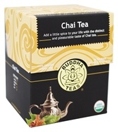 Buddha Teas - 100% Organic Herbal Chai Tea - 18 Tea Bags