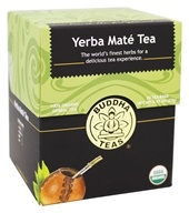 Buddha Teas - 100% Organic Herbal Yerba Mate Tea - 18 Tea Bags