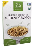 One Degree Organic Foods - Veganic Sprouted Ancient Grain O's Cereal - 8 oz.