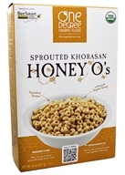 One Degree Organic Foods - Sprouted Khorasan Honey O's Cereal - 8 oz.