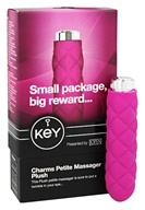 Key - Charms Petite Massager Plush Raspberry Pink