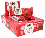 Manitoba Harvest - Hemp Heart Bar Apple Cinnamon - 12 Bars