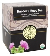 Buddha Teas - 100% Organic Herbal Burdock Root Tea - 18 Tea Bags