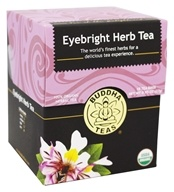 Buddha Teas - 100% Organic Herbal Eyebright Herb Tea - 18 Tea Bags