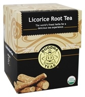 Buddha Teas - 100% Organic Herbal Licorice Root Tea - 18 Tea Bags
