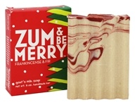 Indigo Wild - Zum & Be Merry Bar In A Box Frankincense & Fir - 3 oz.