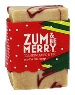 Indigo Wild - Zum & Be Merry Mini Bar Frankincense & Fir - 1.5 oz.