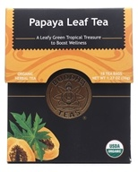 Buddha Teas - 100% Organic Herbal Papaya Leaf Tea - 18 Tea Bags