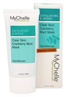 MyChelle Dermaceuticals - Clear Skin Cranberry Mud Mask - 1.2 oz. Cranberry Mud Mask