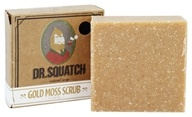 Dr. Squatch - Natural Bar Soap Gold Moss Scrub - 5 oz.