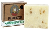 Dr. Squatch - Natural Bar Soap Spearmint Basil Scrub - 5 oz.