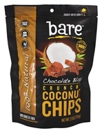 Bare Fruit - 100% Natural Crunchy Coconut Chips Chocolate Bliss - 2.8 oz.