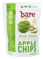 Bare Fruit - 100% Organic Crunchy Apple Chips Great Granny - 3 oz.