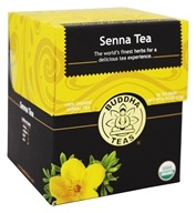 Buddha Teas - 100% Organic Herbal Senna Tea - 18 Tea Bags
