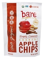 Bare Fruit - 100% Organic Crunchy Apple Chips Simply Cinnamon - 3 oz.
