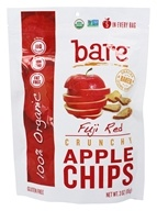 Bare Fruit - 100% Organic Crunchy Apple Chips Fuji Red - 3 oz.