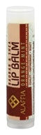 Alaffia - Baobab & Shea Lip Balm Orange-Mint - 0.15 oz.