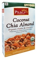 Peace Cereal - Organic Flakes & Clusters Coconut Chia Almond - 11 oz.