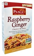 Peace Cereal - Clusters & Flakes All Natural Raspberry Ginger - 11 oz.