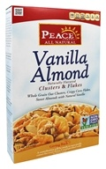 Peace Cereal - Clusters & Flakes All Natural Vanilla Almond - 11 oz.