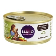 Halo Purely for Pets - Spot's Stew Cat Grain-Free Wholesome Lamb - 5.5 oz.