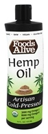 Foods Alive - Organic Hemp Oil - 16 oz.