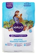 Halo Purely for Pets - Spot's Stew Sensitive Formula for Cats Seafood Medley - 3 lb.