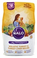 Halo Purely for Pets - Spot's Stew Sensitive Formula for Cats Wholesome Turkey - 6 lb.