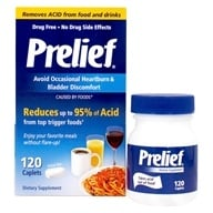 Prelief - Prelief Acid Reducer Dietary Supplement - 120 Caplets