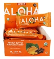Aloha - Aloha Protein Bar Peanut Butter Chocolate Chip - 12 Bars