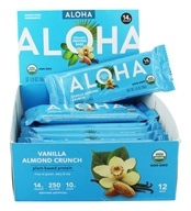 Aloha - Aloha Protein Bar Vanilla Almond Crunch - 12 Bars
