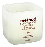 Method - Scented Soy Candle Vanilla Bean - 5 oz.