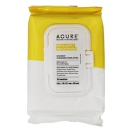 ACURE - Cleansing Towelettes Coconut + Argan Oil - 30 Towelette(s)