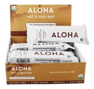 Aloha - Aloha Snack Bar Dark Chocolate Coconut - 12 Bars