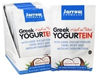 Jarrow Formulas - Gluten-Free Greek Yogurtein Coconut Cream - 12 Packet(s)