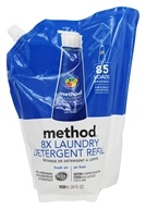 Method - Laundry Detergent 8x Concentrated Refill Fresh Air 85 Loads - 34 oz.