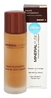 Mineral Fusion - Liquid Mineral Foundation Deep 1 - 1 oz.