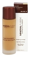 Mineral Fusion - Liquid Mineral Foundation Olive 2 - 1 oz.