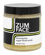Indigo Wild - Sugar Facial Scrub Zum Face Lemongrass - 4 oz.