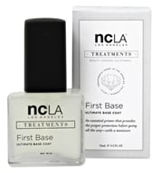NCLA - Nail Lacquer Ultimate Base Coat First Base - 0.5 oz.