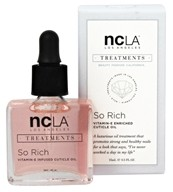 NCLA - Nail Lacquer So Rich Vitamin-E Enriched Cuticle Oil Peach Vanilla - 0.5 oz.