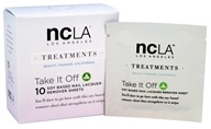 NCLA - Nail Lacquer Soy Based Remover Sheets - 10 Sheet(s)