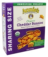 Annie's - Organic Cheddar Bunnies Baked Snack Crackers - 11 oz.