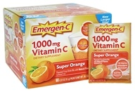 Alacer - Emergen-C Vitamin C Super Orange 1000 mg. - 60 Packet(s)