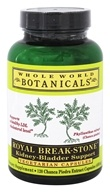 Whole World Botanicals - Royal Break-Stone Kidney-Bladder Support - 120 Vegetarian Capsules