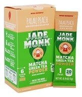 Jade Monk - Matcha Green Tea Powder Palau Peach - 6 Packet(s)