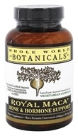 Whole World Botanicals - Royal Maca Bone & Hormone Support - 120 Vegetarian Capsules