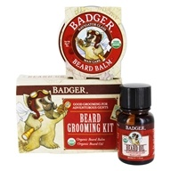 Badger - Organic Beard Grooming Kit