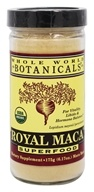 Whole World Botanicals - Royal Maca Powder Superfood - 6.17 oz.